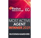 EGI Most Active Agent Winner 2019